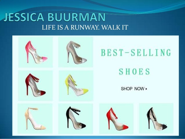 LIFE IS A RUNWAY. WALK IT