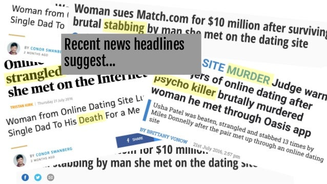 Any news on online dating