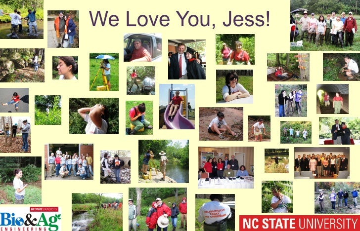 We Love You, Jess!<br />