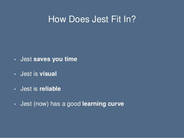 Saving Time By Testing With Jest