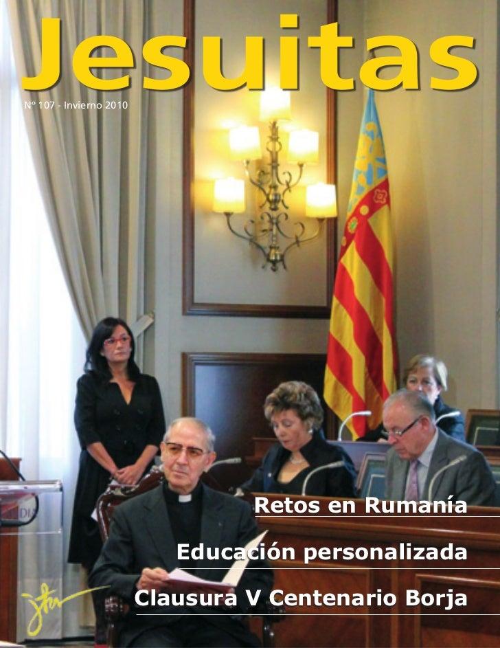JesuitasNº 107 - Invierno 2010                                  Retos en Rumanía                            Educación pers...