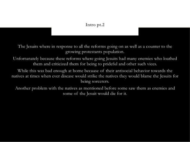 Jesuit relations Slide 3