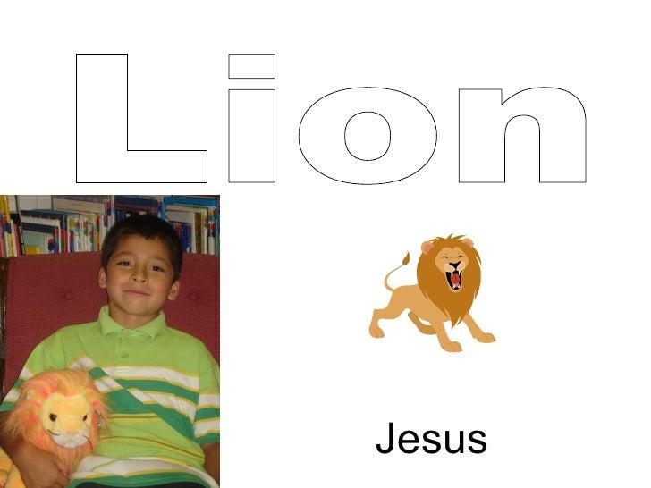 Lion Jesus
