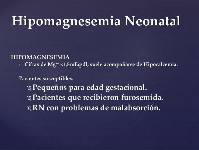 HIPOMAGNESEMIA EN RECIEN NACIDOS PDF DOWNLOAD