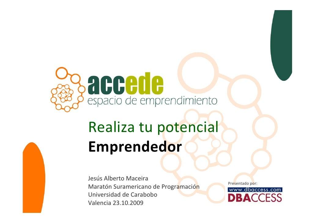 Realizatupotencial                   Emprendedor                   JesúsAlbertoMaceira                                ...