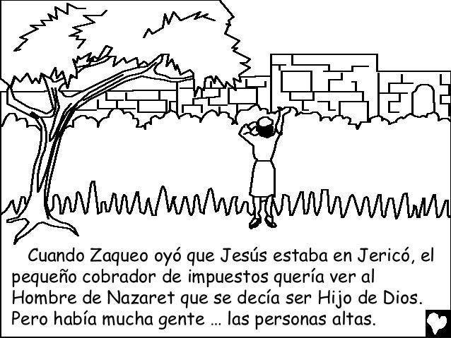 Jesus and zaccheus spanish cb