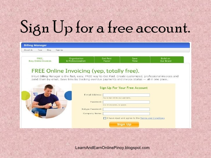 how to make online billing invoice