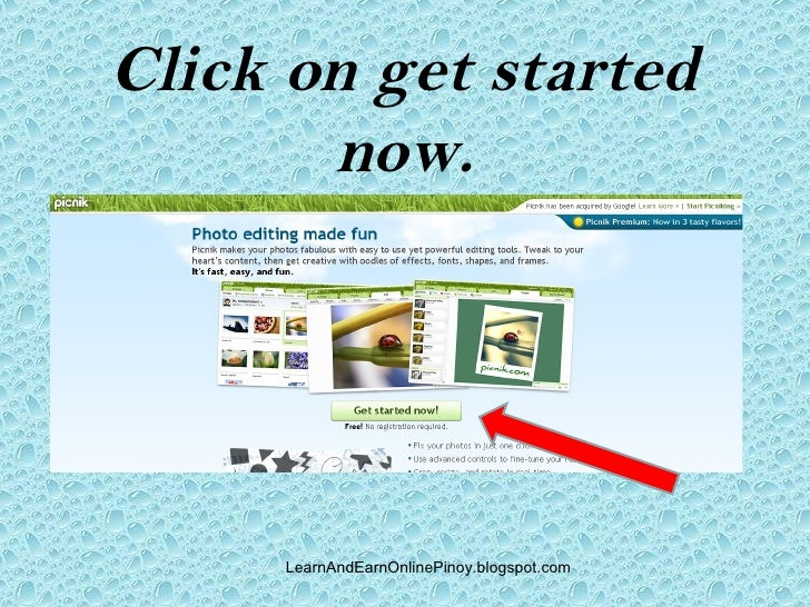 How to do online photo editing? Slide 3