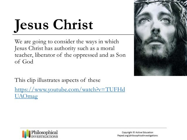 Teaching resources for the Philosophy of Religion: Jesus Christ