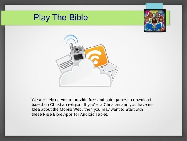 Jesus Christ Games - playthebible com