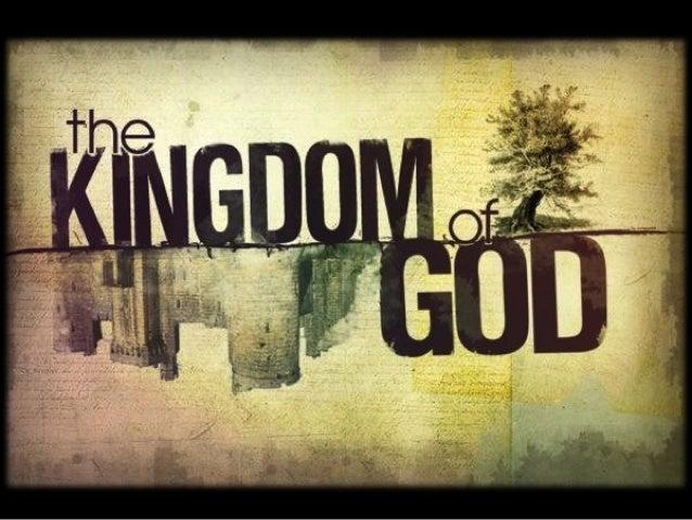 Jesus EXPLAINED the Kingdom         Sunday, April 21, 2013