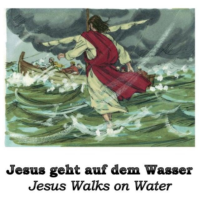 Eines Tages befahl Jesus seinen Jüngern, in ihr Boot zu steigen und an das andere Ufer des Sees vorauszufahren. One day, J...