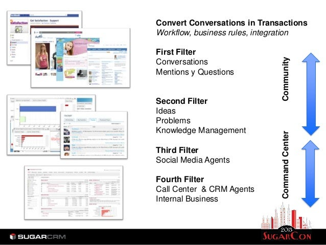 Convert Conversations in TransactionsWorkflow, business rules, integrationFirst Filter                              Commun...