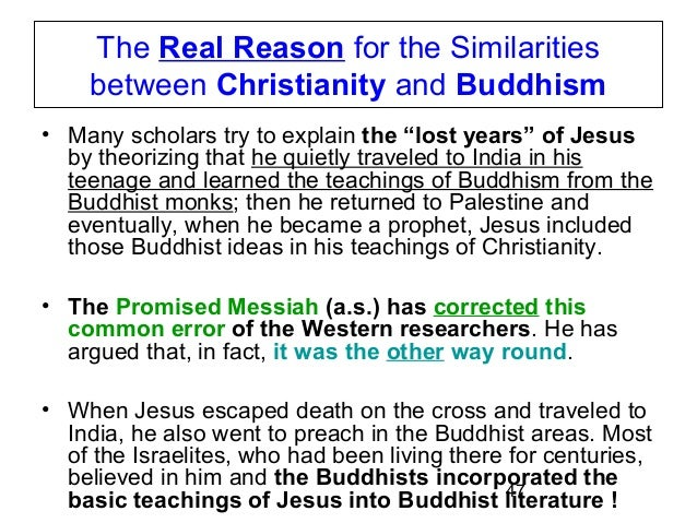 buddhism and christianity compare and contrast essay A11 compare the spread of buddhism with the spread of christianity from 8000 bce to 600 ce video link spread of christianity.