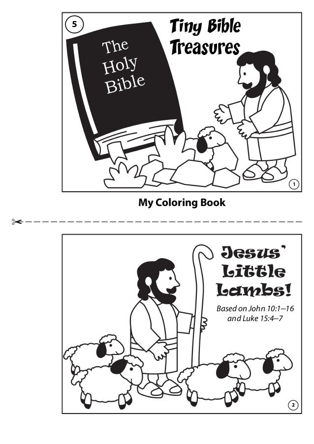 Coloring Book: Jesus\' Little Lambs