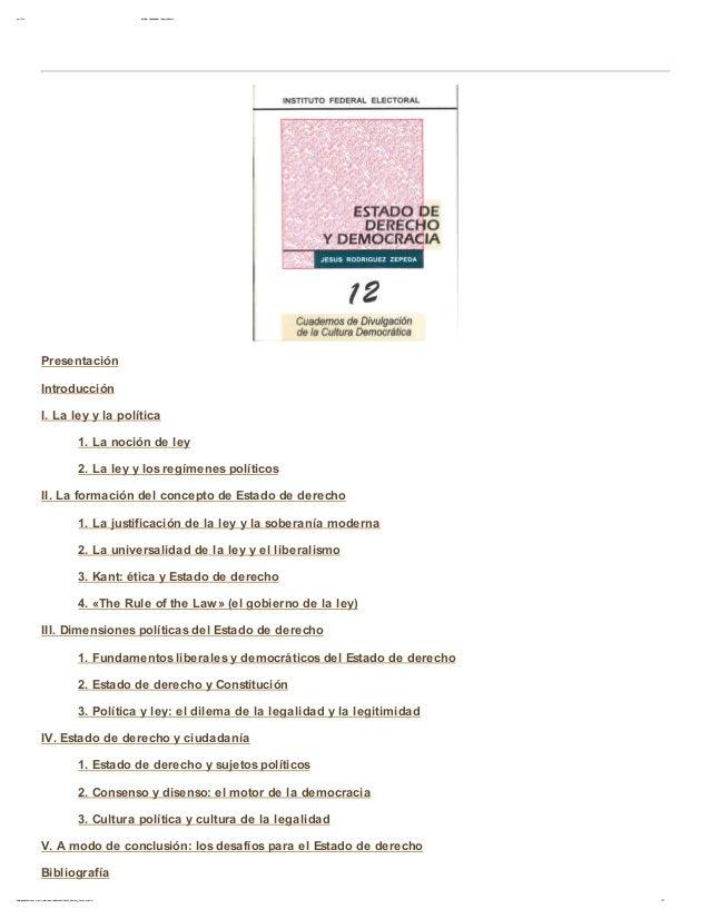 30/ 11/ 12 ESTADO DE DERECHO Y DEM O CRACI A1/ 27bibliot ecadigit al. conevyt . or g. m x/ colecciones/ ciudadania/ est ad...