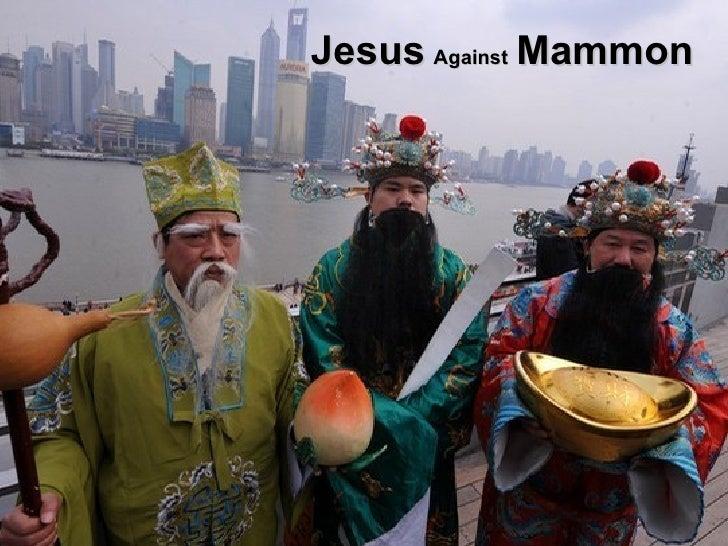 Jesus Against Mammon