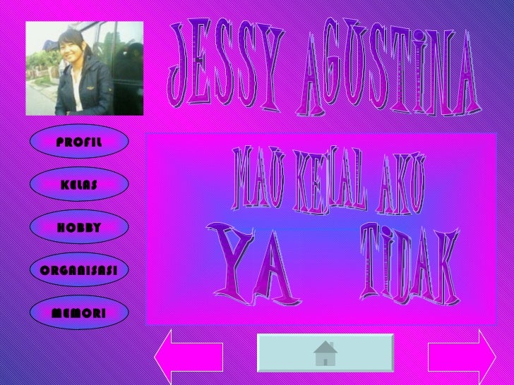 JESSY AGUSTINA PROFIL KELAS HOBBY ORGANISASI MEMORI TIDAK YA MAU KENAL AKU