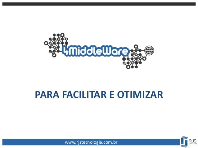 PARA FACILITAR E OTIMIZAR www.rjstecnologia.com.br