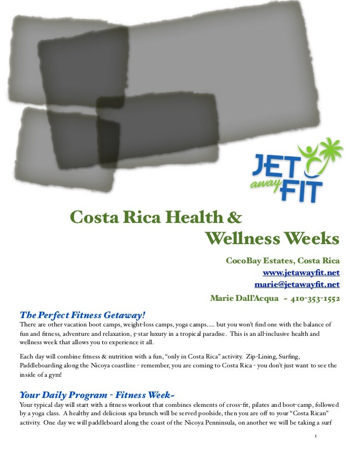 Costa Rica Health &                                 Wellness Weeks                                                        ...