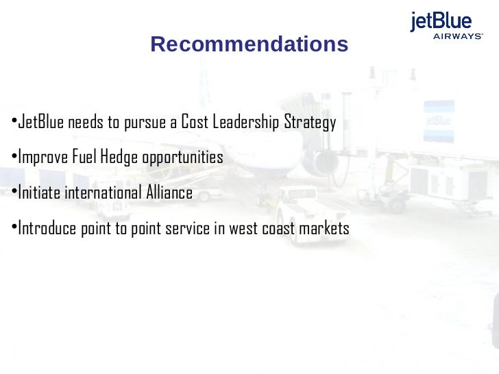 Cover Letter For Jetblue Airwayscase Study Strategic Management