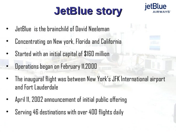 jetblue airways organizational development partners 1 volume 2, issue 1, 2007casestudy jetblue airways & organizational development: partners for change pulling off the jetblue experiencein this tumultuous environment a critical need.