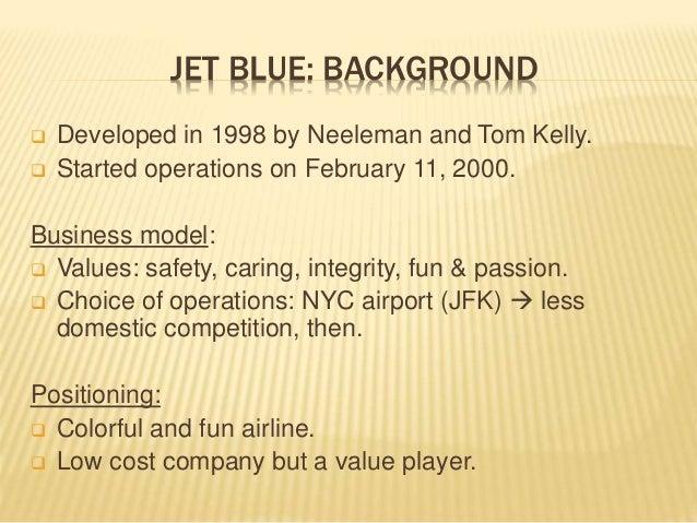 Jet Blue Airway: Case Analysis (Strategic Audit) Slide 2