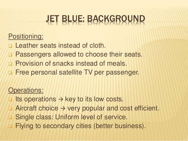 Jet Blue Airway: Case Analysis (Strategic Audit) Slide 3