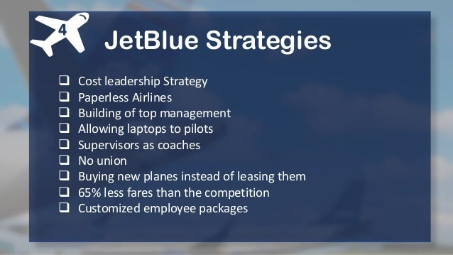 JetBlue Airways: Starting from Scratch
