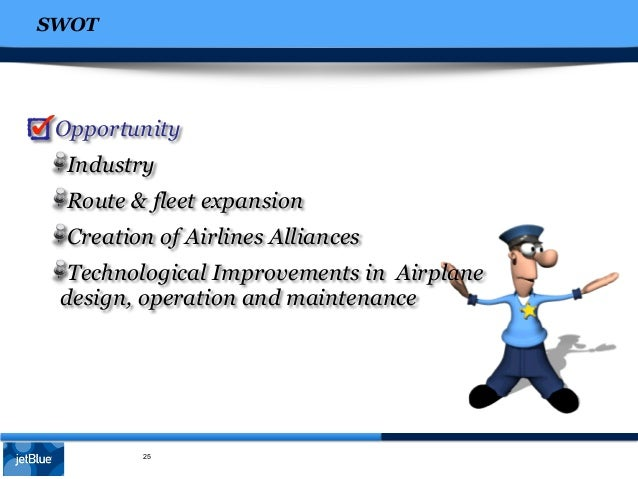 jet blue case analysis Strengths • jetblue airways is the low cost airline of america • strong people on top management, several jetblue executives are former employees of southwest.