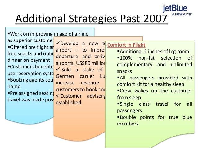 jet blue strategic management essay Customers file against jet blue for showing the passengers data to the third party  strategic management report for tc company  jetblue crisis management essay.