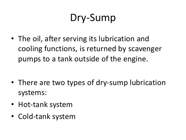 Types Of Lubrication Systems : Jet propulsion oil and lubrication