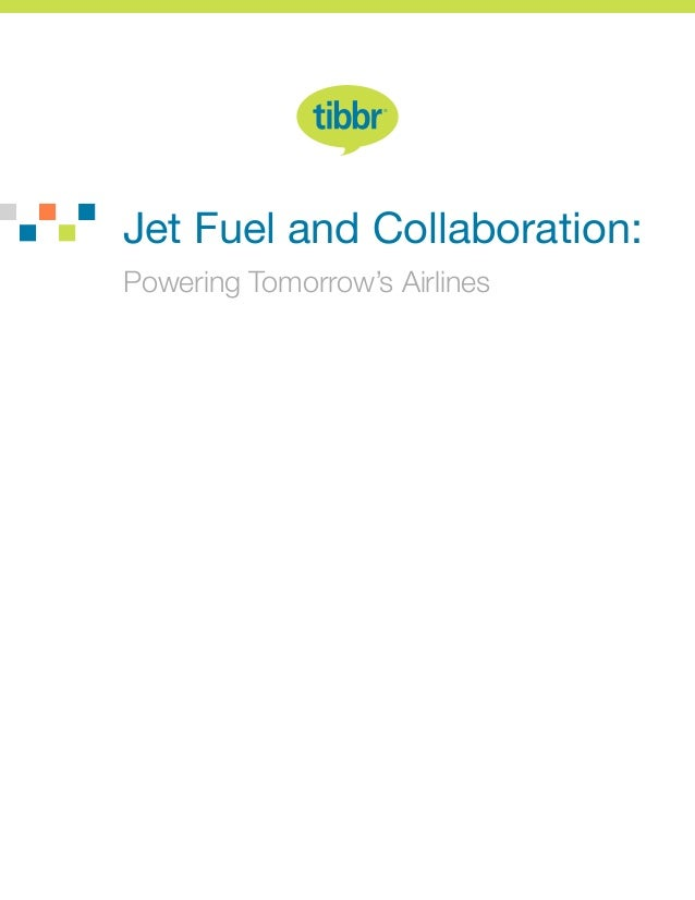 Jet Fuel and Collaboration: Powering Tomorrow's Airlines