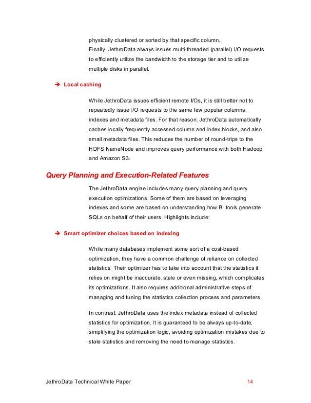 jethrodata technical white paper. Black Bedroom Furniture Sets. Home Design Ideas