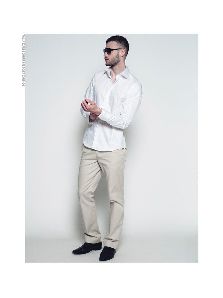 Jet-Set Menswear Collection Lookbook
