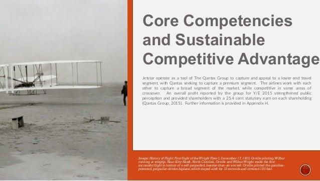 Jetstar core competencies