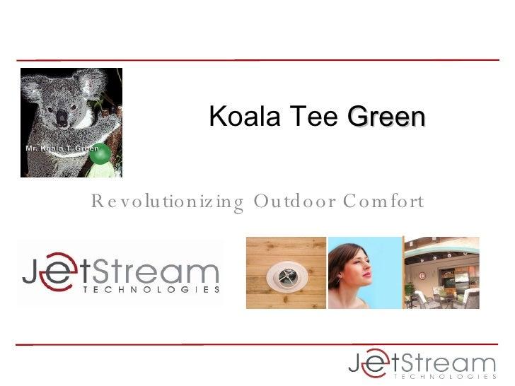Revolutionizing Outdoor Comfort Koala Tee  Green
