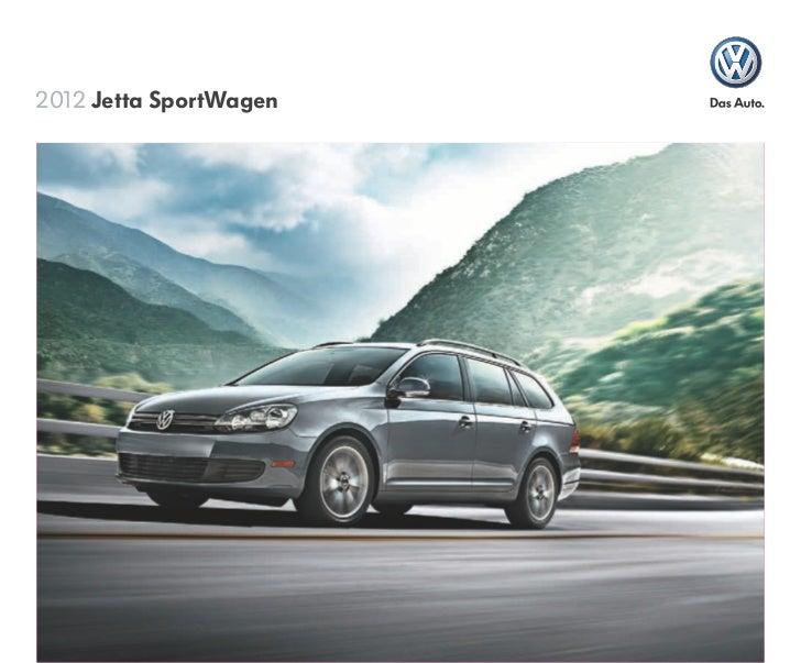 2012 VW Jetta SportWagen brochure by Neil Huffman ...