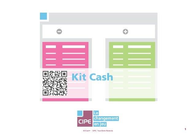 Kit Cash® - CIPE, Tous Droits Réservés1