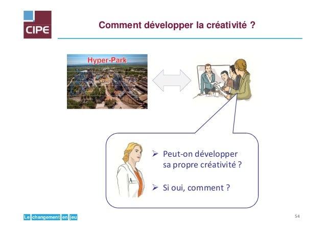 jeuenchangementLe Comment développer la créativité ? Peut-on développer sa propre créativité ? Si oui, comment ? 54