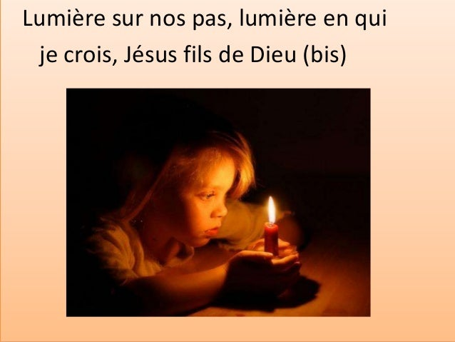 Si je veux te suivre, Jésus le serviteur S'il me faut descendre par des sentiers de peur, Comment Seigneur ne pas trembler...