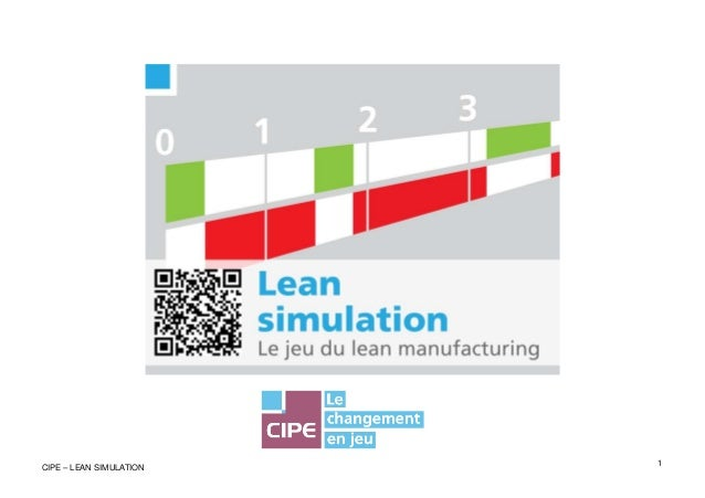 1CIPE – LEAN SIMULATION