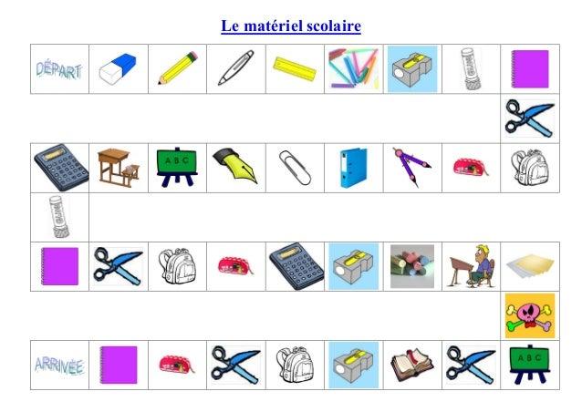 Le matériel scolaire