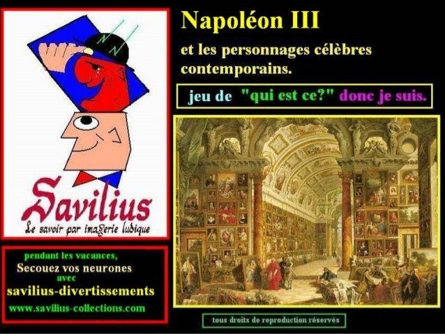 Jeu  Quiz Napoléon III