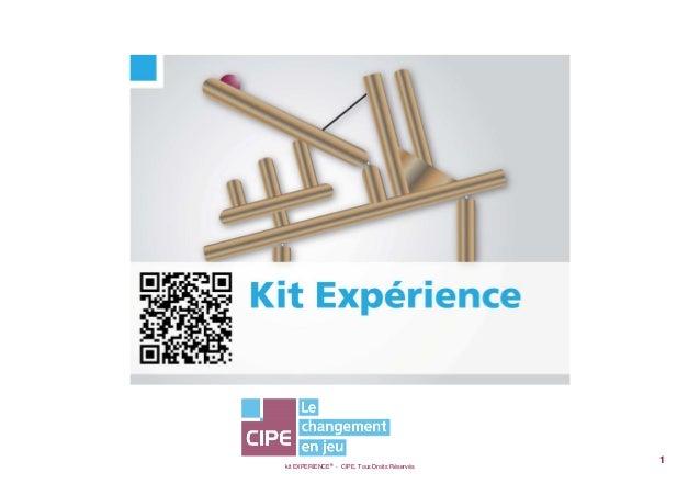 kit EXPERIENCE® - CIPE, Tous Droits Réservés1