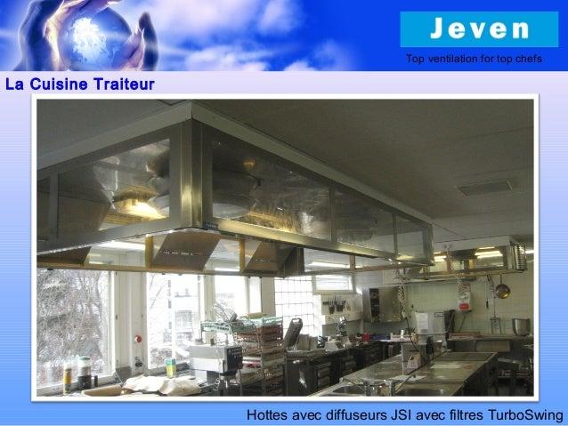 Ventilation pour cuisines professionnelles - Cuisine professionelle ...