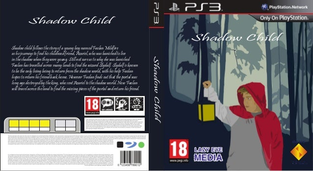 Shadow Child  Shadow Child  Shadow child follows the story of a young boy named Faolan Mildfire  as he journeys to find hi...