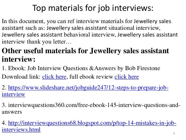 sales assistant interview 4 - Sales Associate Sales Assistant Interview Questions And Answers