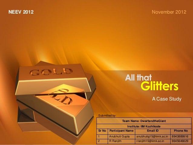 1   NEEV 2012                                                                                                       Novemb...