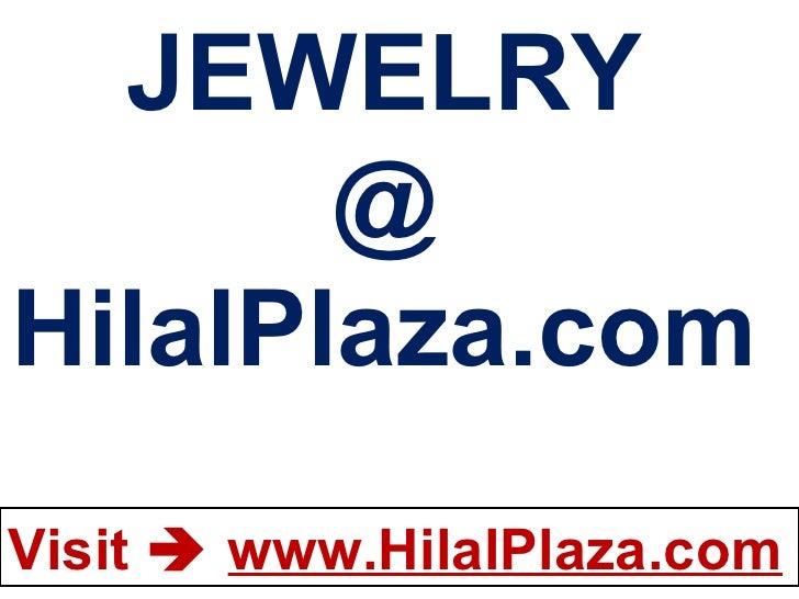 JEWELRY @ HilalPlaza.com